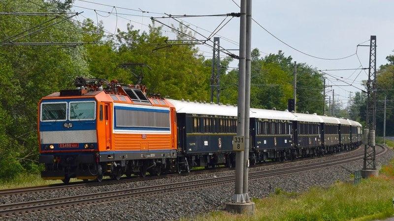 ČD 362 001 Venice Simplon Orient Express Kojice 24 5 2018