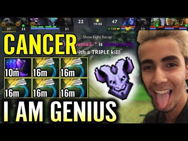 Easy Cancer Build x RIKI SumaiL is Freaking Genius Dota 2 GAmeplay