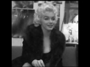 Photos of Marilyn Monroe Being Interviewed