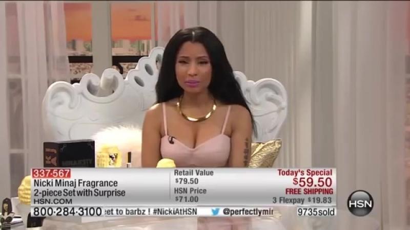 Nicki Minaj At HSN 2014 - The Fragrance Launch Of Minajesty Exotic - PART 3