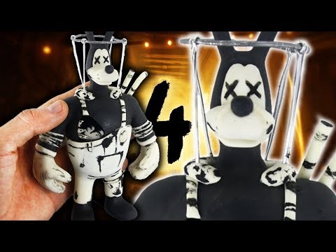 BRUTE BORIS l CHAPTER 4 TUTORIAL ✔POLYMER CLAY ✔COLD PORCELAIN
