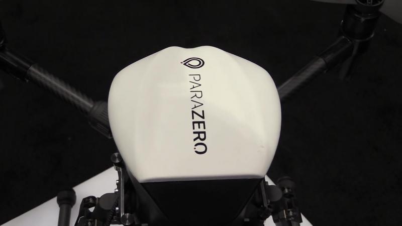 ParaZero анонсирует парашюты для дронов