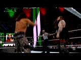 "WWE PPV Greatest Royal Rumble 27.04.2018 - Bray Wyatt & ""Woken"" Matt Hardy vs. Sheamus & Cesaro"