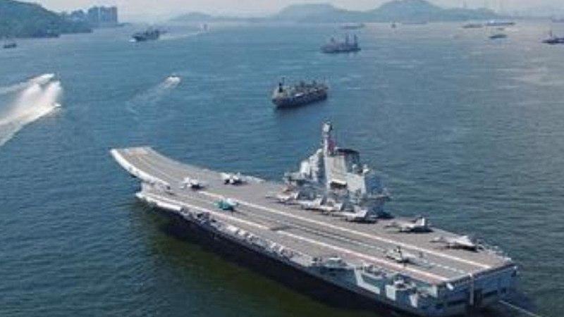 China's 500 Ship Navy Suddenly Appears on the Horizon