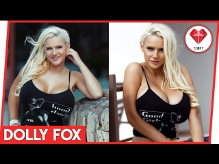The Incredible Dolly Fox showing her Thong! by Tempt App