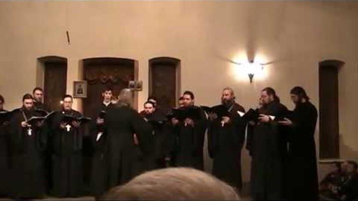 Концерт Хора священнослужителей Рязанской Епархии