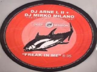DJ Arne L II DJ Mirko Milano - Freak In Me