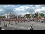 Достойный ответ из России на кричалку - Кто не скачет тот москаль ;)