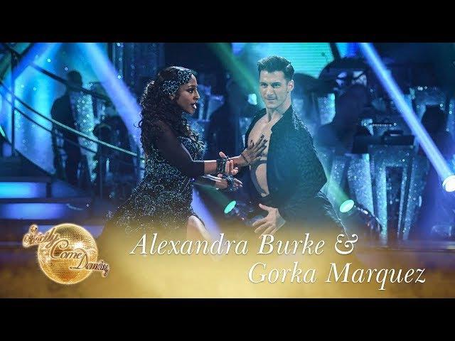 Alexandra Burke Gorka Marquez Paso Doble to 'Ven a Bailar' - Strictly Come Dancing 2017