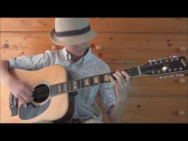 Bron-Yr-Aur (Led Zeppelin).cover 12 string guitar 演奏:Risei
