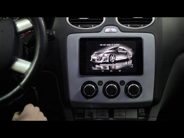 Nexus 7 like a CarPC in Ford Focus II