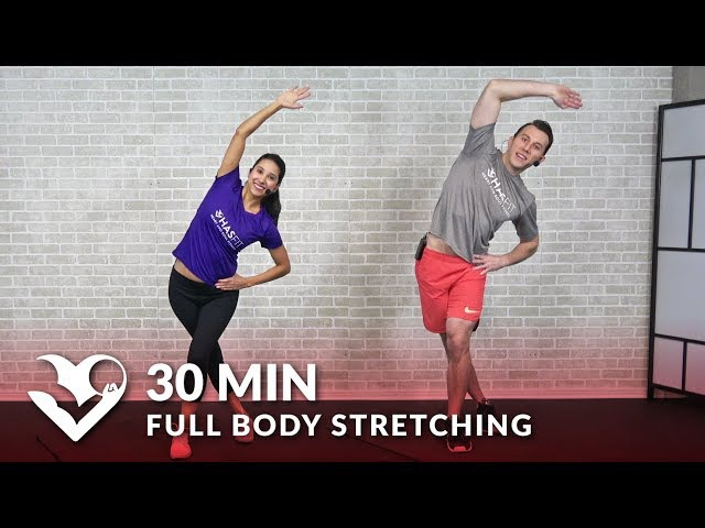 30 Minute Full Body Stretching Exercises How to Stretch to Improve Flexibility Mobility Routine