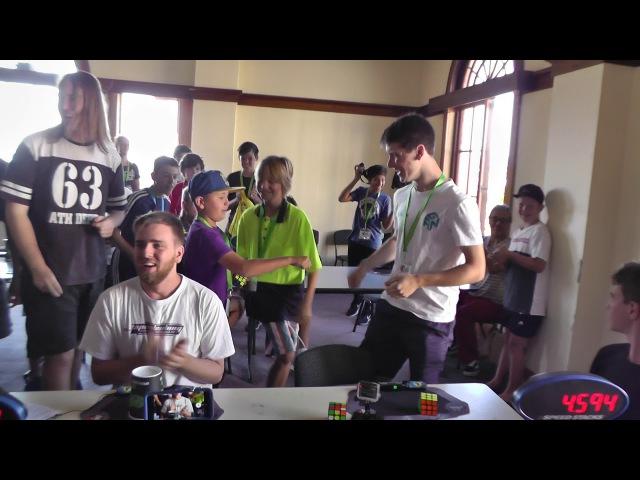 Rubik's Cube World Record 4 59 seconds Feliks Zemdegs