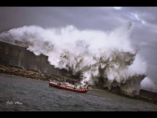 Temporal olas grandes Enero 2018