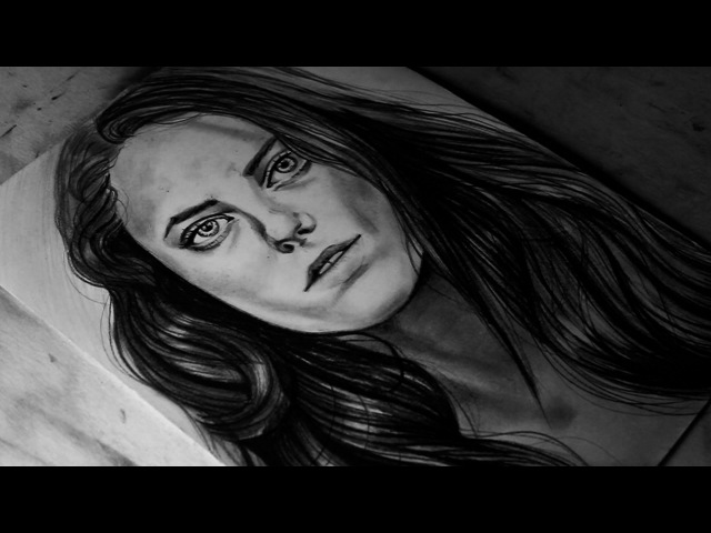 Drawing Kaya Scodelario (Teresa Agnes From The Maze Runner)