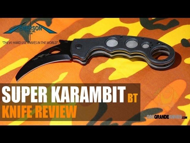 Нож керамбит Emerson Super Karambit SF