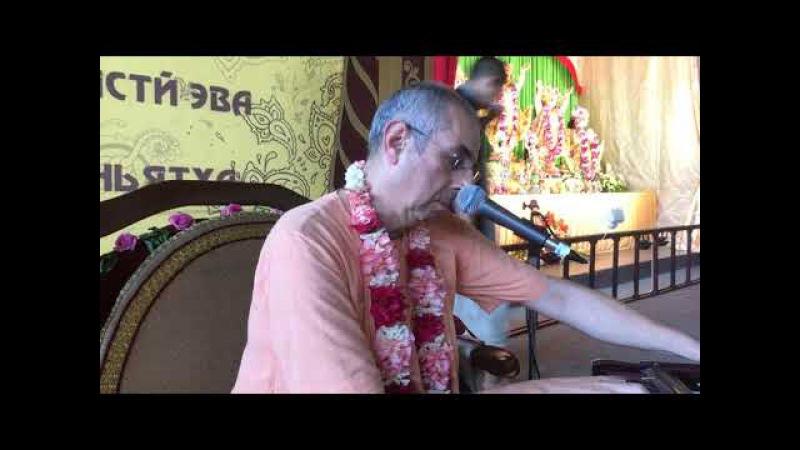 Niranjana Swami on Markine-bhagavata-dharma at Sadhu-sanga, Russia – 15-Sep-2017