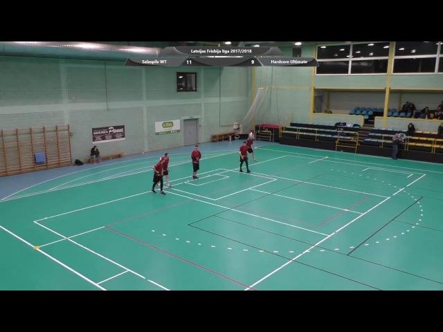 Latvijas frisbija līgas 2017.18. izšķirošais posms vīriešiem
