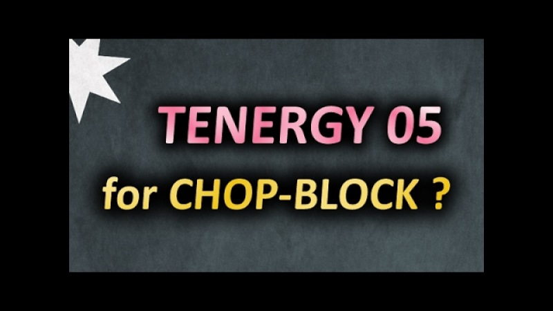 Chop-Block with Tenergy 05 on Mizutani Super ZLC? Why not :) Чопблок гладкой максималкой SlowMotion