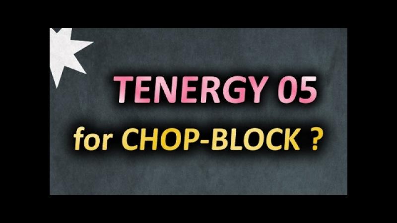 Chop-Block with Tenergy 05 on Mizutani Super ZLC? Why not :) Чопблок гладкой максималкой SlowMotion