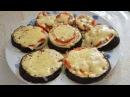 Баклажаны в Микроволновке Сытно и Просто Запеченные с помидорами луком сыро