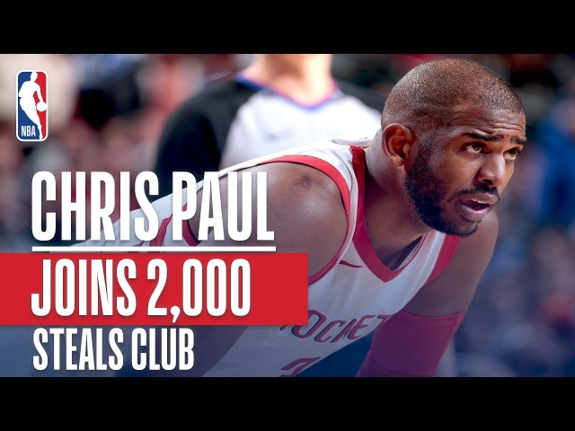 Chris Paul Joins NBA GREATS In 2000 Steals Club (Jordan, Stockton, Payton and More!)