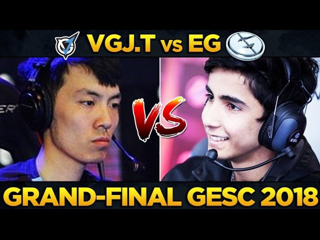 EG vs VGJ.T - GRAND FINAL - GESC INDONESIA MINOR 2018 - Dota 2