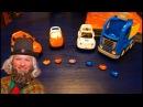 Видео для детей Мультик с игрушками Команда машинок Сказки лесовичка