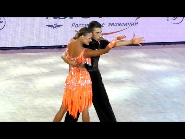 Vladislav Untu Polina Baryshnikova | Самба | WDSF Чемпионат Мира - молодежь 10 танцев - 1/4 финала