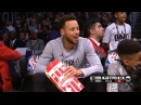 Stephen Curry Eats Popcorn 2018 NBA All Star Game