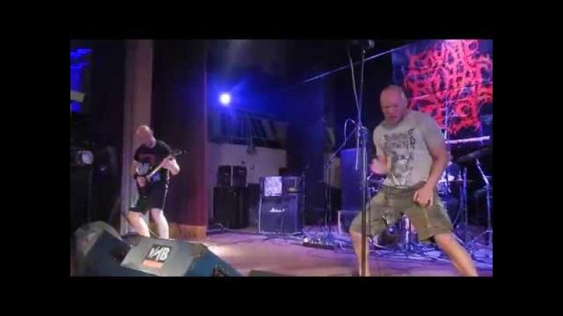 POSTHUMOUS BLASPHEMER (Belr). Coyote Brutal Fest - 12...17 feb 2018. Moscow. Mona club