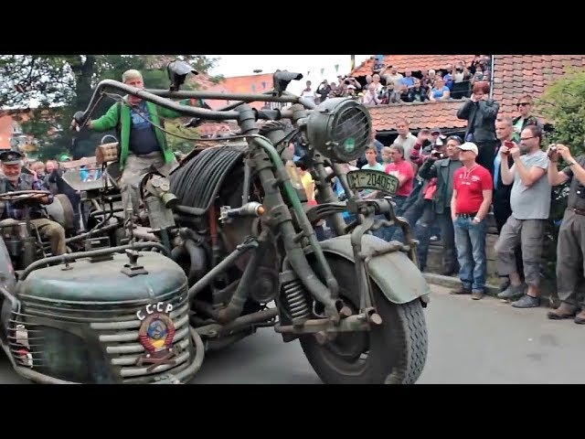 😵Сумасшедшие Мотоциклы Самоделки 👏 !