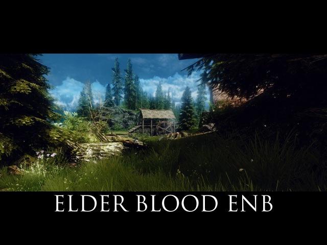 TES V - Skyrim Mods: Elder Blood ENB
