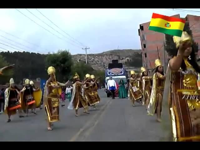 Incas Danza Tradicional - Paja Brava - Bolivian Folklore
