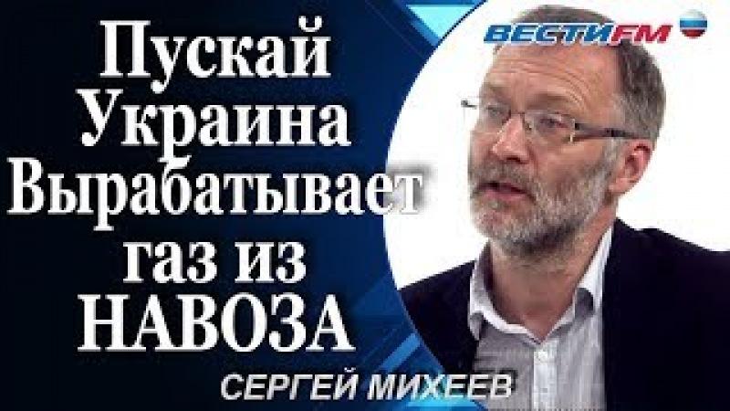 Сергей Михеев Пускай Украина Вырабатывает газ из НАВОЗА