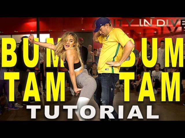 BUM BUM TAM TAM - J Balvin Future Dance TUTORIAL   Matt Steffanina Chachi