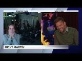 Рики Мартин довел журналистку до слёз
