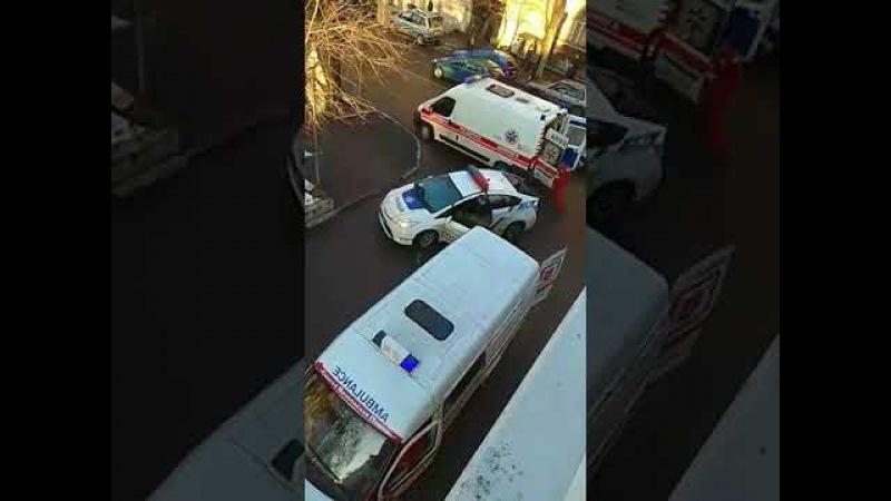 Перестрелка среди дня в центре Одессы есть убитые и раненые