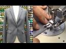 ジャケットの作り方・縫い方 Part2 「裁ち合わせ 伸び止めテープ貼り