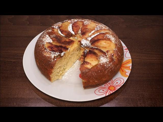 ♨️Вкусный пирог с яблоками в мультиварке 🍰 простой рецепт пирога рецепты для мультиварки 🍴Выпечка
