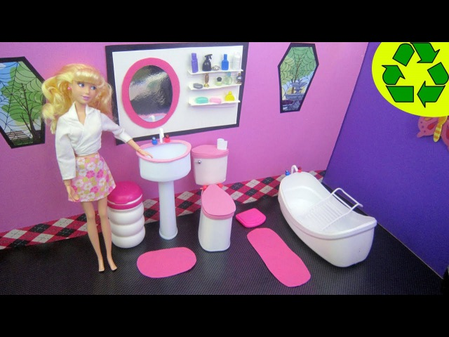 Manualidades para muñecas: Cómo hacer un lavabo