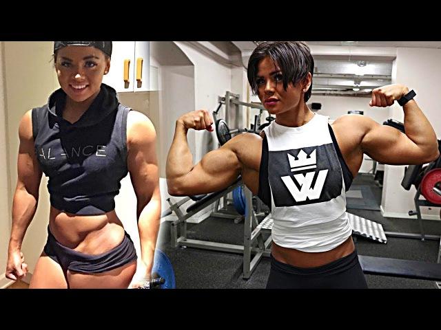 Muscle GIRL WORKOUT (Sophie Arvebrink)