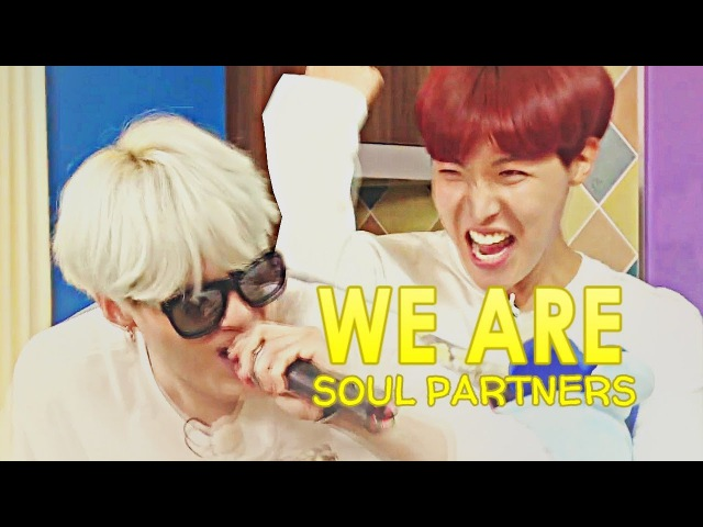 'we're sou(p)l partners!'