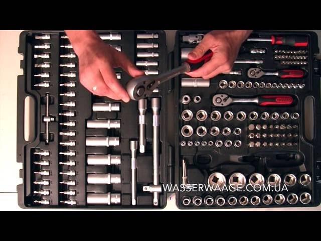 Набор инструментов KS Tools 179 огляд обзор