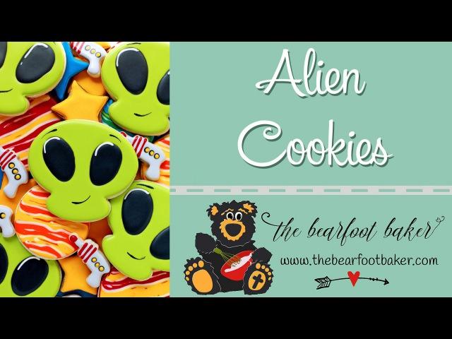 How to Make Alien Cookies   The Bearfoot Baker