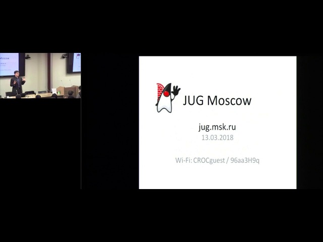 Алексей Рагозин - мастер-класс по Java Mission Control - встреча jug.msk.ru - 13.03.2018