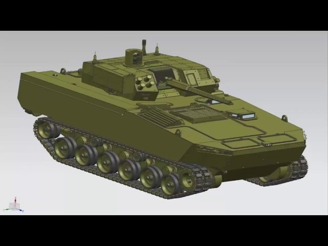 Huta Stalowa Wola rolls out Borsuk armoured fighting vehicle prototype at MSPO