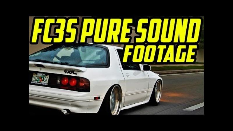 Mazda RX7 FC3S Rotary PURE SOUND