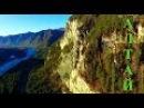 Долина реки Катунь Скальник у Тавдинских пещер на Алтае