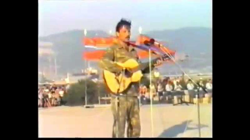 Фестиваль Афганской песни Огонь души твоей. Новороссийск, 1988 год